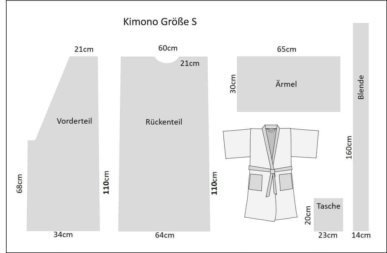 Kimono Schnitt