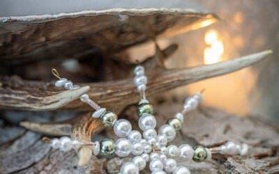Christbaum Perlenstern